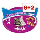 6 + 2 kaupan päälle 8 x Whiskas-kissanherkut