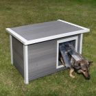 Kerbl ecoFLEX® Flat Roof Dog Kennel