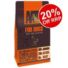 10kg AATU 80/20 Complete Grain Free Dry Dog Food - 20% Off RRP!*