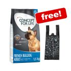 1.5kg Concept for Life Dry Dog Food + Biodegradable Poop Bags Free!*