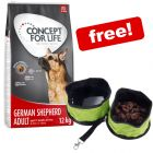 12kg Concept for Life Dry Dog Food + Folding Travel Bowl Free!*