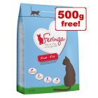 6kg Feringa Dry Cat Food + 500g Free!*
