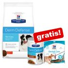 12kg Hill's Prescription Diet + GRATIS: 2 x Hill's PD Stew și Dental snack!