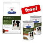 12kg Hill's Prescription Diet Canine Dry Dog Food + 2 x 354g Stews Free!*