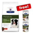 12kg Hill's Prescription Diet Canine Metabolic Weight + 2 x 354g Free!*