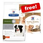 12kg Hill's Prescription Diet Dry Dog Food + 2 x 220g Hill's Snacks Free!