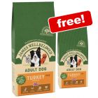 15kg James Wellbeloved Adult Turkey & Rice Dry Dog Food + 2kg Extra Free!*