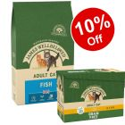 4kg James Wellbeloved Dry Cat Food + 12 x 85g Pouches - 10% Off!*