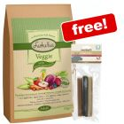 5kg Lukullus Veggie (cold-pressed) + Beeztees Veggie Stick Mix Free!