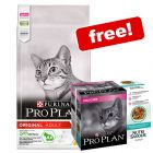 10kg Purina Pro Plan Dry Cat Food + 10 x 85g Purina Delicate Pouches Free!*