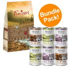 12kg Purizon Dry Dog Food + Wolf of Wilderness Wet Food - Special Bundle!*