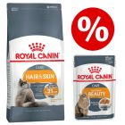 10kg Royal Canin Feline Dry Food + 12 x 85g Wet Food - Half Price!*