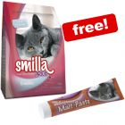 4kg Smilla Dry Cat Food + 50g Smilla Malt Cat Paste Free!*