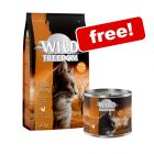 2kg Wild Freedom Dry Cat Food + 6 x 200g Wet Food Free!*
