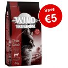 2kg Wild Freedom Dry Cat Food - Save €5!*