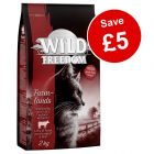 2kg Wild Freedom Dry Cat Food - Save £5!*