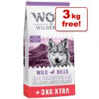 12kg Wolf of Wilderness Adult Classic Dry Dog Food + 3kg Extra Free!*