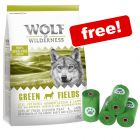 1kg Wolf of Wilderness Dry Dog Food + Biodegradable Dog Poop Bags Free!*