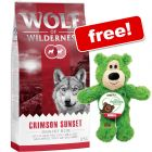 12kg Wolf of Wilderness Dry Dog Food + KONG WildKnots Bear Free!*