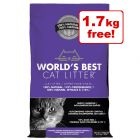 11kg World's Best Cat Litter + 1.7kg Free!*