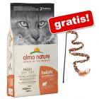 12 kg Almo Nature Holistic + Cannetta gioco Leo gratis!
