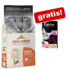 12 kg Almo Nature Holistic + Tigeria Milk Cream miks gratis!
