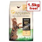 7.5kg Applaws Dry Cat Food - 6kg + 1.5kg Free!*