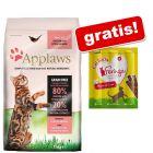 7,5 kg Applaws + Feringa Sticks piščanec & raca gratis!
