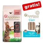 2 kg Applaws Katzenfutter + 8 x 7 g Applaws Puree Snacks gratis!