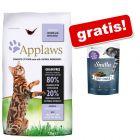 7,5 kg Applaws + Smilla Soft Sticks gratis!