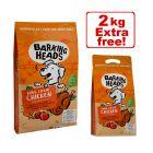 12kg Barking Heads Dry Dog Food + 2kg Free!*