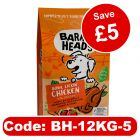 12kg Barking Heads Dry Food - Use Coupon & Save £5!*