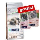 2 kg Bozita droogvoer + 2 x 85 g natvoer in gelei gratis!
