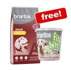 14kg Briantos Dry Dog Food + 150g Briantos FitBites Salmon Free!*
