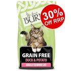 5kg Burns Free From Adult Duck & Potato Dry Cat Food - 30% Off RRP!*