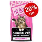 2kg Burns Original Chicken & Brown Rice Adult Dry Cat Food - 20% Off!*