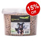 2kg Caniland Soft Poultry Trainees XXL Tub – 15% Off!*
