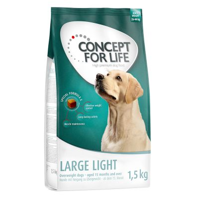1.5kg Concept for Life Dry Dog Food - 2 + 1 Free!*