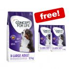 12kg Concept for Life Dry Dog Food + 3kg Extra Free!*