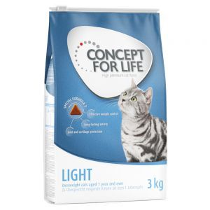 3kg Concept for Life Dry Food + 24 x 85g Wet Food in Gravy