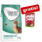 10 kg Concept for Life + Feringa Crunchy Bites govedina gratis!
