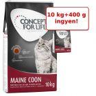 10 kg Concept for Life + 400 g ingyen!