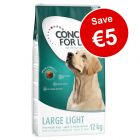 12kg Concept for Life Light Dry Dog Food - Save €5!*