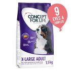 1,5 kg Concept for Life 10% árengedménnyel!