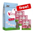 2kg Feringa Dry Cat Food + 9 x Feringa Turkey & Lamb Cat Sticks Free!*