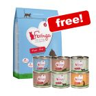 6/6.5kg Feringa Dry Cat Food + 6 x 200g Classic Meat Menu Mixed Pack Free!*
