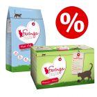 2kg Feringa Dry Cat Food + 12 x 85g Classic Meat Menu - Special Bundle!*
