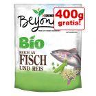 2 kg + 400 g gratis! 2,4 kg BEYOND BIO Adult Pește și orez