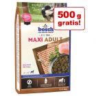 2,5 kg + 500 g gratis! 3 kg  bosch Maxi Adult