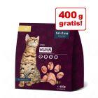 2 kg + 400 g gratis! 2,4 kg Felifine Complete Nuggets